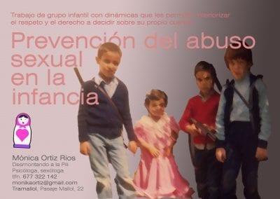 Prevención del abuso sexual en la infancia