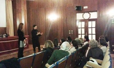 Moderamos en el cine forum del COPAO