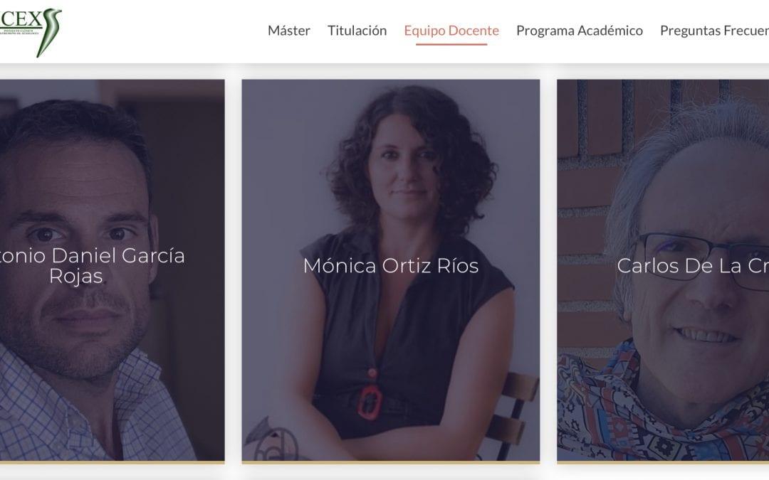 Equipo Docente del Master de Sexología de la Universidad de Extremadura